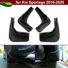 Kaitian 4Pcs Car Mud Flaps Splash Guard Fender Mud Guands Mudguard Mudflaps Mud Guards Custom Fit for Kia Sportage 2016 2017 2018 2019 2020