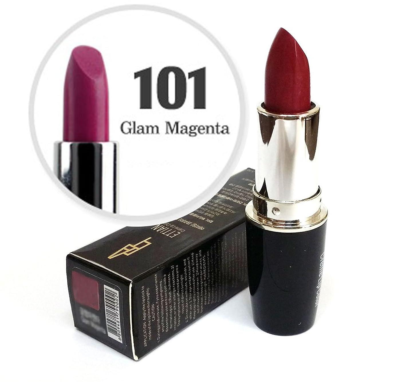 テセウスチャーミング落胆させる[Ettian] クリームリップカラー3.5g / Cream Lip Color 3.5g / 新しい口紅 #101グラムマゼンタ/ New Lipstick #101 Glam Magenta / ドライ感じることはありません / never feels dry / 韓国化粧品 / Korean Cosmetics [並行輸入品]