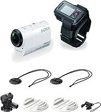 Sony HDR-AZ1VR/W POV HD Camcorder + Live View Remote, VCT-BDM1 Board Mount Kit