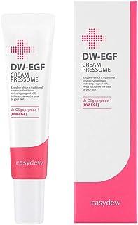Easydew DW-EGF Cream Pressome 0.5 fl oz Award-Winning Anti Aging Moisturizing Cream with Human Epidermal Growth Factor - N...