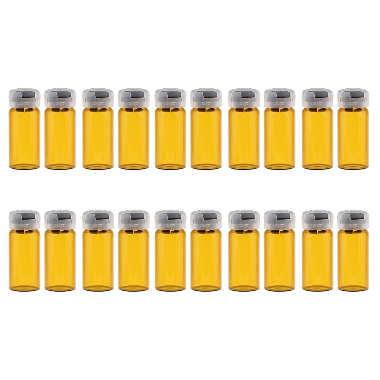 もしではごきげんよう薬理学空 バイアル 密封 滅菌バイアル ガラス 液体容器 約20個 全3サイズ - 10ml