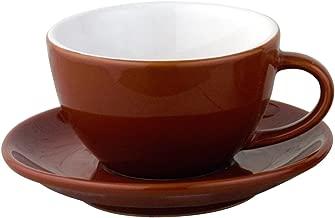 European Gift and Houseware Italian Style Moka Cafe Cappuccino Cups, 7-Ounce, Set of 6