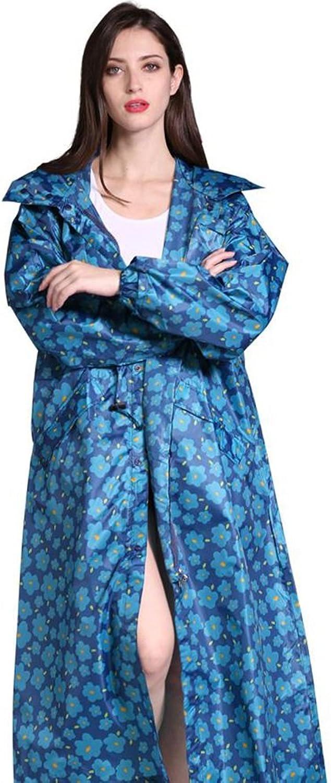 bluee Lengthen to Increase Glue Raincoat Riot Rain Rain Raincoat Adult Men and Women Windbreaker Thin Raincoat Poncho