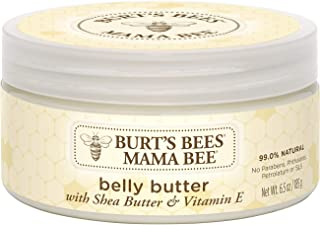 Burt's Bees Mama Bee Belly Butter, Fragrance Free Lotio - 6.5 Ounce Tub