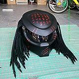 Helmet Art Thai HAT 190 Predator Motorcycle Helmet (XL = 61-62 cm)