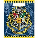 Unique Party 59113 Bolsas de Regalo Harry Potter Paquete de 8, Multicolor, Talla única