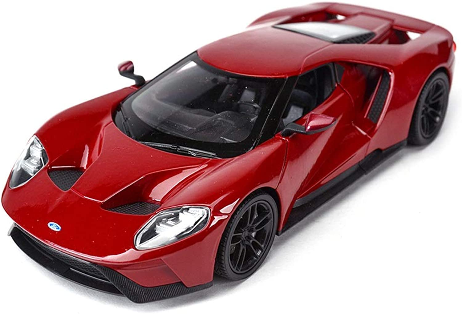 Model car Model Car 2017 Ford GT Model 1 24 Scale Model Diecasting Model Alloy Model Collection Decorative Gift Ornaments (color   Red)