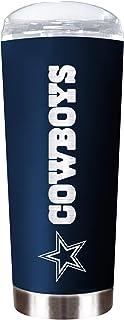 "Dallas Cowboys 18 oz""The Roadie"" Vacuum Insulated Powder Coated Tumbler"