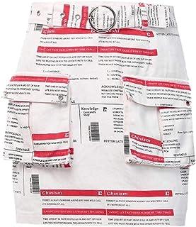 Women Summer Print Pockets A-Line High Waist Print Short Skirt