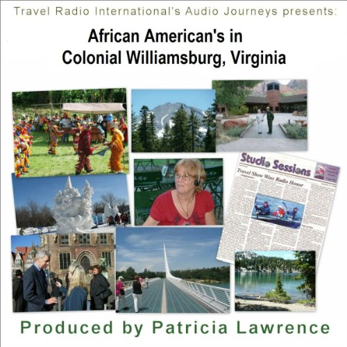 African Americans in Colonial Williamsburg, Virginia audiobook cover art