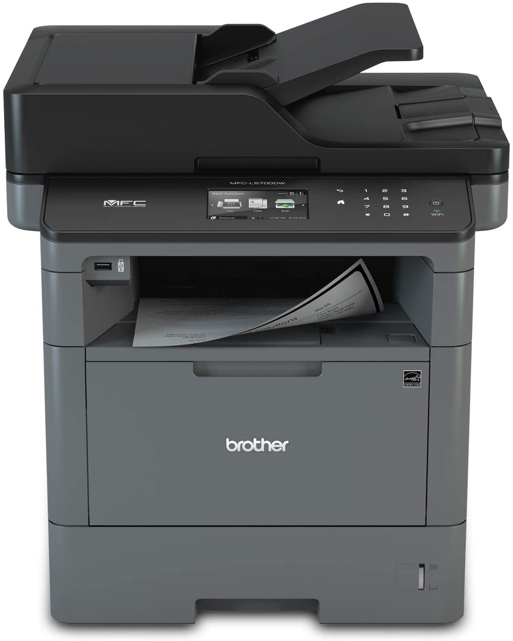 Brother MFC-L5700DW Dual Tray Printer