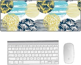 大型マウスパッド ゲーミング 防水 900*400*3mm デスクマット PCマット 超大型 ゲーミングマウスパッド おしゃれ 防水 耐久性 滑り止め オフィス ゲーム (5)