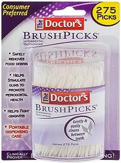 The Doctor's BrushPicks 275 each - 4 Pack = 1100 Brushpicks