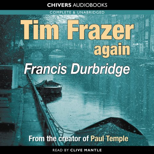 Tim Frazer Again audiobook cover art