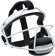 Mizuno MFF900Y Fielder's Small/Medium Facemask, White, One Size
