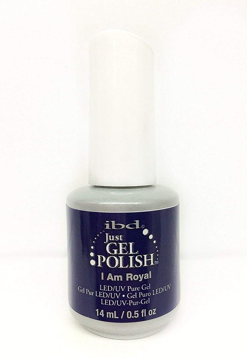 ローマ人試みエネルギーibd Just Gel Nail Polish - I Am Royal - 14ml / 0.5oz