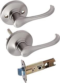 Kwikset 200DNL-15 6AL Kwikset Dorian Passage Lockset, Satin Nickel, Ada Compliant