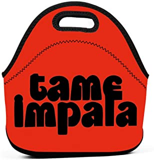 Lunch Bags Tame Impala Fashion Lunch Lunch Bag Portable Lunch Box