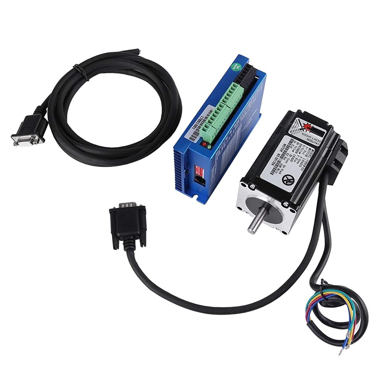 ビジョンけがをする先例ステッピングモーターキット、HSS57ハイブリッドサーボドライバーおよび57HSE2N-D25 Nema 23閉ループ2N.mステッピングモーター
