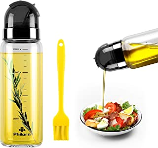 PHILORN Botella Dispensadora de Aceite de Oliva 400ml,