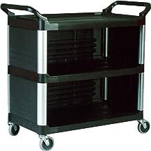 Rubbermaid Commercial 4093BLA Utility Three Shelf