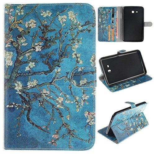Skytar Galaxy Tab 3 7.0 Lite Schutzhülle,Case für Tablet Samsung SM-T113,Folio Case Cover mit Support-Funktion PU Leder Hülle für Samsung Galaxy Tab 3 7.0 Lite (SM-T110/T111/T113/T116) Tablet