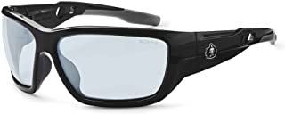 Ergodyne Skullerz Baldr Anti-Fog Safety Glasses- Black Frame, In/Outdoor Lens