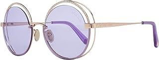 نظارات شمسية من روبيرتو كافالي 1101 -F 33S ذهبي وازرق لامع