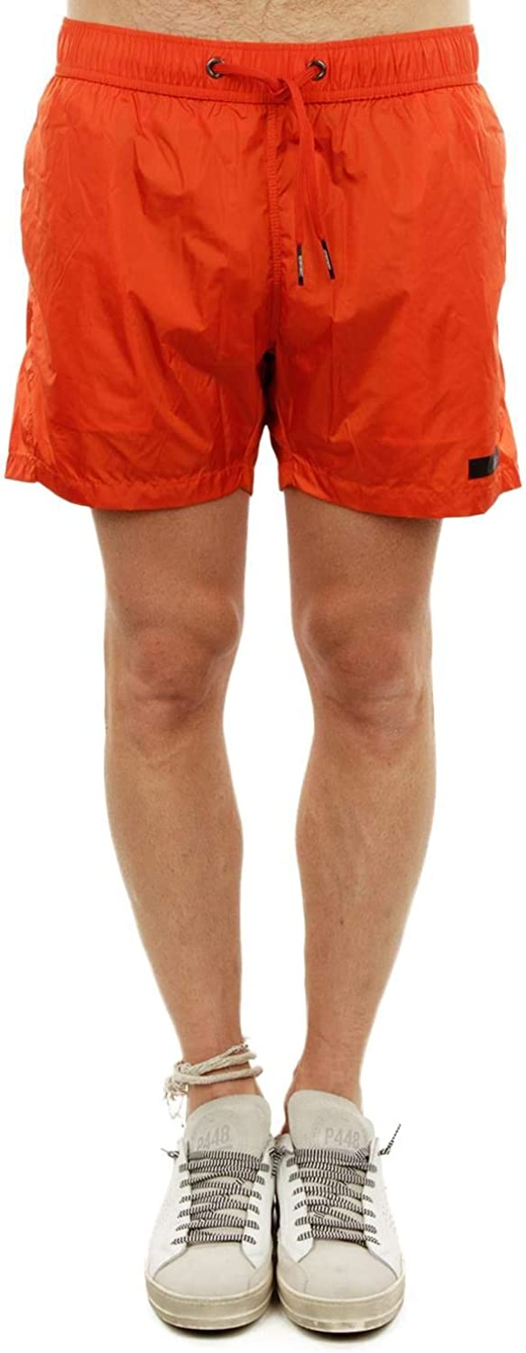 Rrd Men's 1810330 orange Polyester Trunks