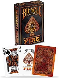 Bicycle Elements Series Fire Playing Cards Standard (Poker) Sized