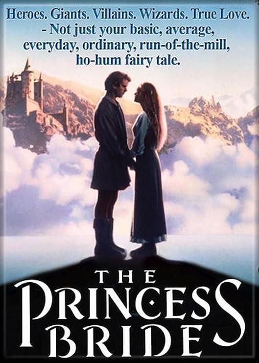 Princess Bride Movie Poster Magnet: Amazon.co.uk: Kitchen & Home