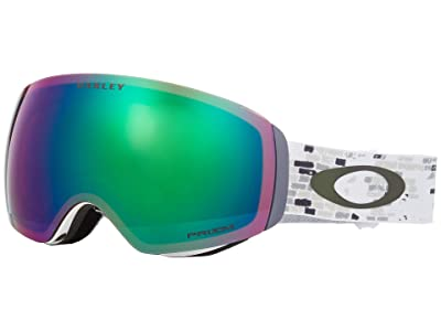 Oakley FlightDeck XM (Snowed in Stealth w/ Prizm Jade Iridium) Goggles