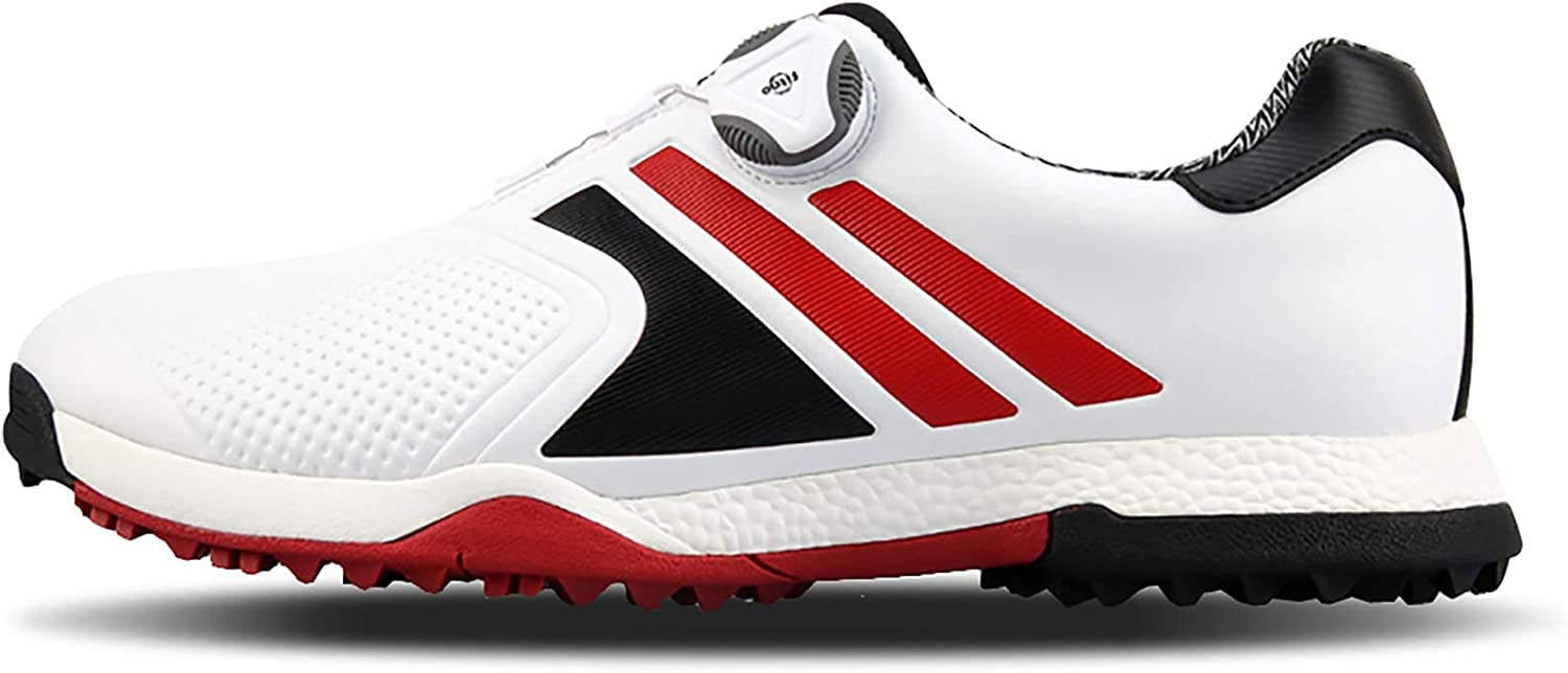 AIAIⓇ Men's Leather Golf Shoes Sh Waterproof Women's Department store Max 65% OFF -