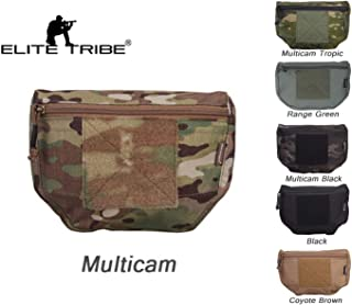 Paintball Equipment Airsoft Hunting Molle Vest Pouch Tactical Vest Carrier Drop Pouch