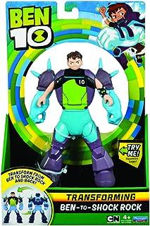 Ben 10 Ben to Alien Transforming Figure - Ben-to-Shock Rock