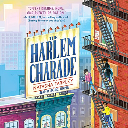 The Harlem Charade audiobook cover art
