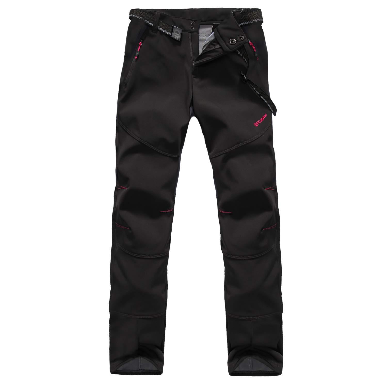 GITVIENAR SportingGoods Femmes Hydrofuge Pantalon Décontracté en Plein air en Coton Salopette Jean pour Camping VTT Travail Activités Exterieurs Pantalons de Ski
