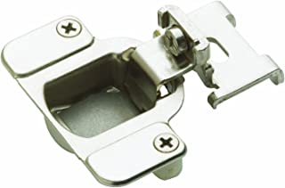 Amerock BP2811I1214 Matrix Concealed Hinge, 1-7/8in(48mm) Hole Patern Hinge with 3/8in(10mm) Overlay - Nickel