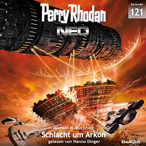 Schlacht um Arkon (Perry Rhodan NEO 121) audiobook cover art