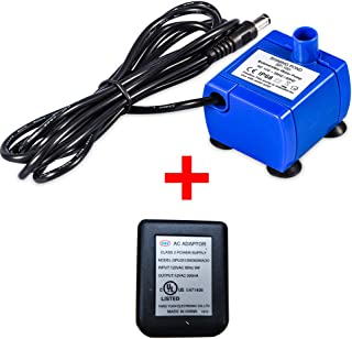 DDZ Pet Water Pump, Cat Water Fountains Pump Compatible Motor, for Pet Drinking Fountains Cat Water Dispenser Replacement