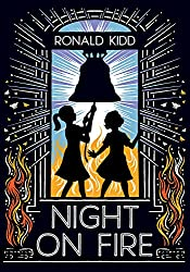 Night on Fire a middle grade novel about the Freedom Riders