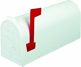 Flambeau T-R4503WT Standard Classic Mailbox, Rural Style, #1, White