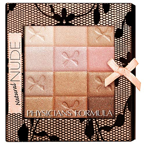 Physicians Formula Schimmer Strips Custom All-in-1 Nude-Palette für Gesicht & Augen, Natural Nude, 1 Stk