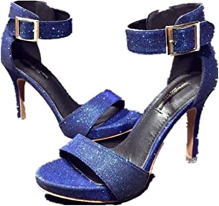 SHANLEE Women's Fashion Stilettos Open Toe Pump Heel Sandals for Women