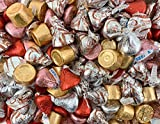 Easter Candy Assortment KISSES Milk Chocolate, ROLO Candy, KISSES Meltaway, 3 Pound Bag