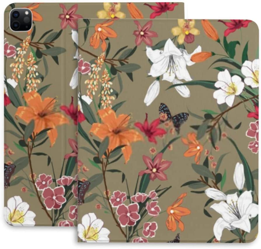 Case for Ipad Pro 12.9 Las Vegas shop Mall Beautiful Kind Protec Floral Vintage Many