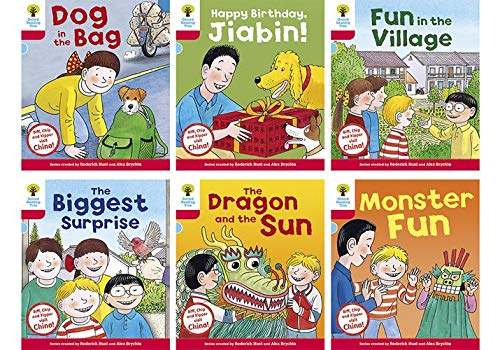 Oxford Reading Tree Biff, Chip and Kipper Stories Decode and Devel: China Stories: Level 4. Pack of 6 (Oxford Reading Tree Biff, Chip and Kipper Decode and Develop)