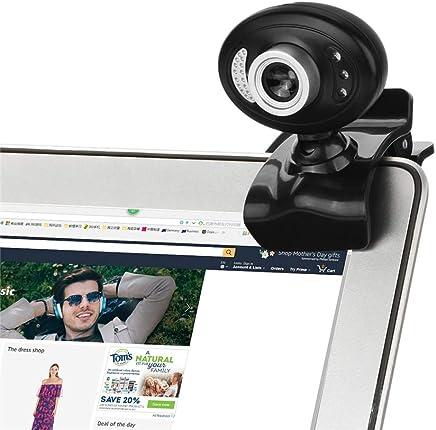 Linbing123 Webcam Full HD 720P con Microfono Stereo, videocamera Web per Chat Video e Registrazione, Fotocamera USB con Microfono per Notebook HD, Rotazione di 360 Gradi - Trova i prezzi più bassi