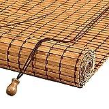 Raffrollos Bambus Rollo Jalousien für Küchenbüro, Gartenterrasse Pavillon Verdunkelungsrollo für Teestube Trennwand, 65-140cm Breite (Size : 100×120cm)
