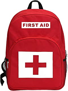 First Aid Kit Bag Waterproof Emergency Treatment Backpack Medic First Responder Backpack Jump Bag for Outdoor, Camping, Field Trips, Hiking & Home